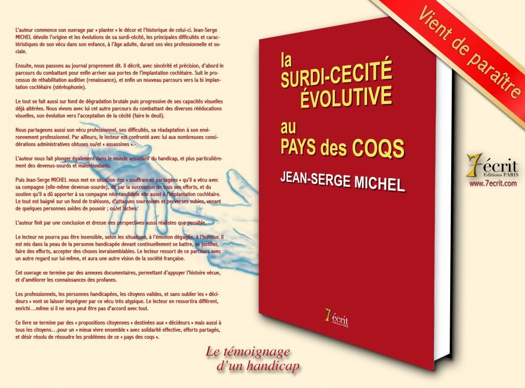 livre sur la surdi-cécité de Jean-Serge Michel
